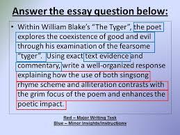 william blake essay the tyger from songs of experience by william blake walwl william blake spring poem illustration