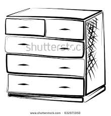dresser clipart black and white. Beautiful White Drawer Drawers Locker Bureau Dresser Clipart Commode Banner Royalty Free  Library On Clipart Black And White I