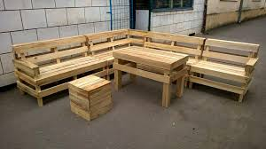 recycled pallets outdoor furniture. recycled pallet outdoor lshape sofa pallets furniture