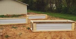 Amazing wooden garden planters ideas try Built Morningchores How To Create Diy Raised Garden Beds With Scrap Wood