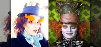 how to apply the mad hatter johnny depp costume makeup makeup wonderhowto
