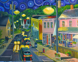 starry night essay in the footsteps of vincent van gogh i have had  starry night parrsboro joy laking gallery starry night parrsboro
