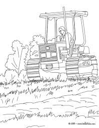 Small Picture Farmer on his tractor coloring pages Hellokidscom
