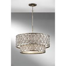 crystal chandelier with drum shade. Circular Unique Chandelier Crystal With Drum Shade T