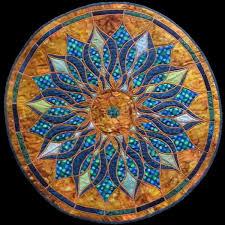 Mosaic Mandala Quilt &  Adamdwight.com