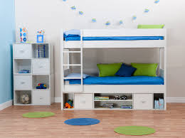 Blue Boy Bunk Bed Ideas For Small Rooms Summit Pattern Reading Book Brown  Vintage Roof Space