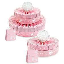 Its A Girl Baby Shower Cake Favor Kit Favors Flowers