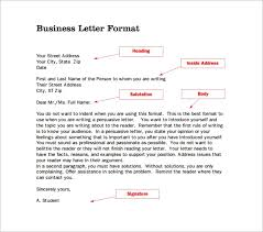how do you format a letter 14 proper letter formats free sample example format