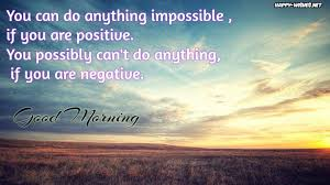 Good Morning With Positive Quotes Best of Good Morning Positive Quotes Wishes Happy Wishes