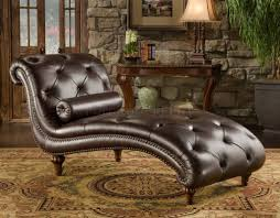 living room furniture chaise lounge. Furniture: Remarkable Dark Chocolate Leather Tufted Chaise Bench For Living Room Furniture Ideas Storage Lounge
