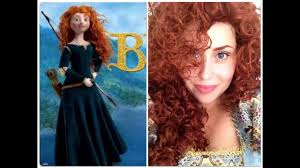 tutorial disney s princess merida the brave ribelle you