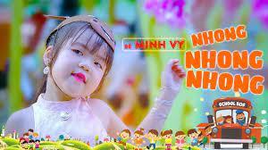 Liên Khúc Nhong Nhong Nhong, Ba Thương Con [MV4K] ☀ Bé MINH VY | Ca Nhạc  Thiếu Nhi Hay Nhất Cho Bé - YouTube
