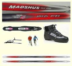 Details About Maximum Glide Best Price Madshus Metal Non Metal Edge X Country Ski Package