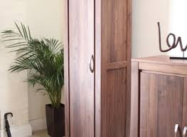 strathmore solid walnut furniture shoe cupboard cabinet. Linea Solid Walnut Furniture Shoe Cupboard Cabinet Tall Hallway Strathmore 1