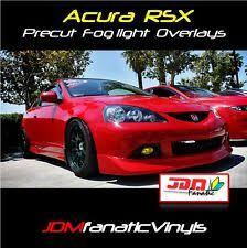 acura rsx 2006 jdm. 20052006 acura rsx dc dc5 fog light jdm yellow overlays tint kit fits rsx 2006 jdm