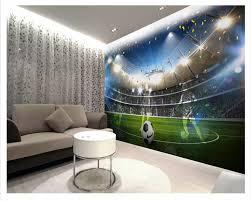 Beibehang Hd Mode Droom Behang Enorme Voetbal Veld 3d Achtergrond