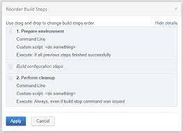 A Database Template Contains Pre Built Build Configuration Template Teamcity 2018 X Documentation