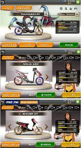 drag racing bike edition mod indonesia unlimited money motor