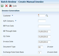 Creating An Invoice Delectable Processing Invoices