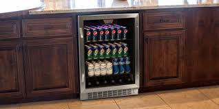 undercounter beverage fridge