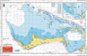Grand Bahama And The Abacos Nautical Map Chart Image