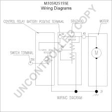 prestolite leece neville m105r2515se wiring diagram