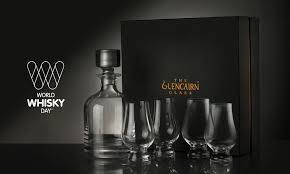 glencairn crystal decanter and glass set
