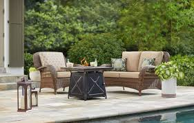 amazing ideas hampton patio furniture beacon park collection outdoors the home depot bay cushions sets replacement