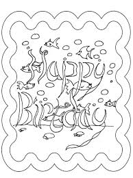 Small Picture Excellent Coloring Page Birthday Card Best Gal 3331 Unknown