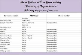 37 Free Beautiful Wedding Guest List Itinerary Templates