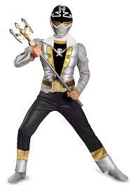 Light Blue Power Ranger Costume Power Ranger Super Megaforce Special Ranger Silver Muscle