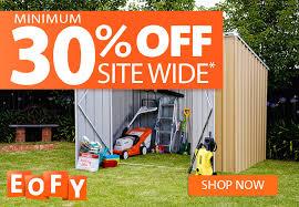 eofy shed 30 off