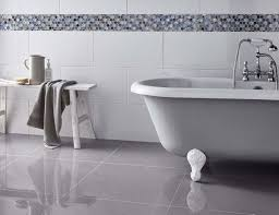 Flooring: Victoria Rectified Gloss Brilliant White Wall Tile Wall ...