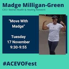 ACEVOFest speakers: Madge Milligan-Green – ACEVO