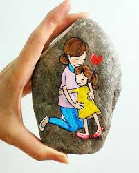 stone painting rock painting painted stones painted pavers rock crafts ilration artists pebble art hobby craft rock art