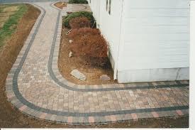 paver walkway diy paver patio
