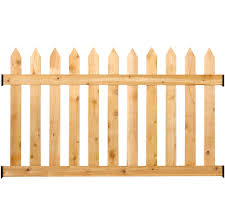 wood picket fence panels. Outdoor Essentials Rough-sawn Cedar Picket Fence Panel Wood Panels
