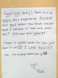 12 good luck note