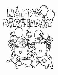 9 birthday coloring pages for kids