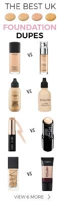 save yourself s with these awesome foundation dupes uk makeuprevolution