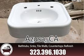 bathtub refinishing reglazing azusa