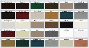 Mastic Siding Color Chart Mastic Vinyl Siding Color Chart Click On The Image To