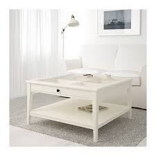 ikea liatorp coffee table practical storage space underneath the table top white coffee table with wood