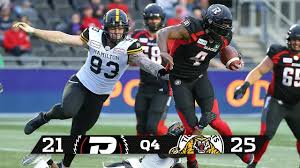 Tiger Cats Hold Early Lead Down Ottawa In Redblacks Pre