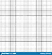 Graph Paper 1mm Stock Vector Illustration Of Blank 135706091
