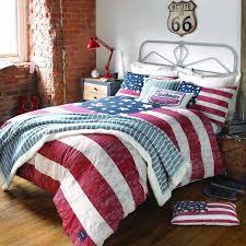 american flag bedding set