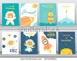 Kid Cards Playing Cards Banner Vector Set Download Free Vector Art Stock