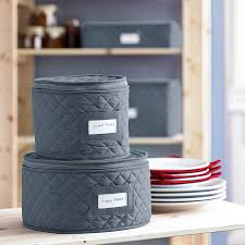 Quilted China Storage Cases | Williams Sonoma &  Adamdwight.com