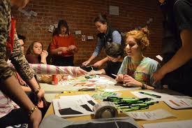 Design teen art classes
