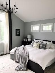 modern farmhouse style master bedroom